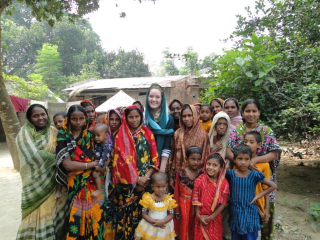 Anette besøk i Chuadanga, Mothers Club