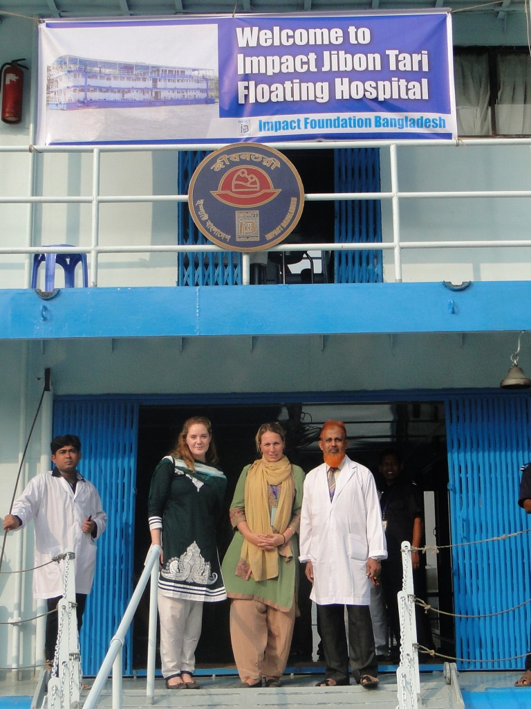 Anette besøker Jibon Tari
