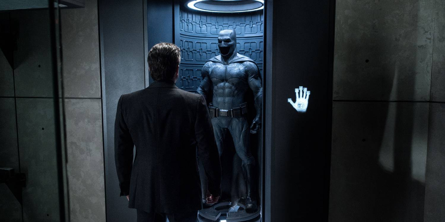 Ben Affleck som Batman i Batman v Superman- Dawn of Justice