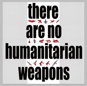 Finnes det noe slikt som et humant våpen? Foto: Tjebbe van Tijen/Flickr